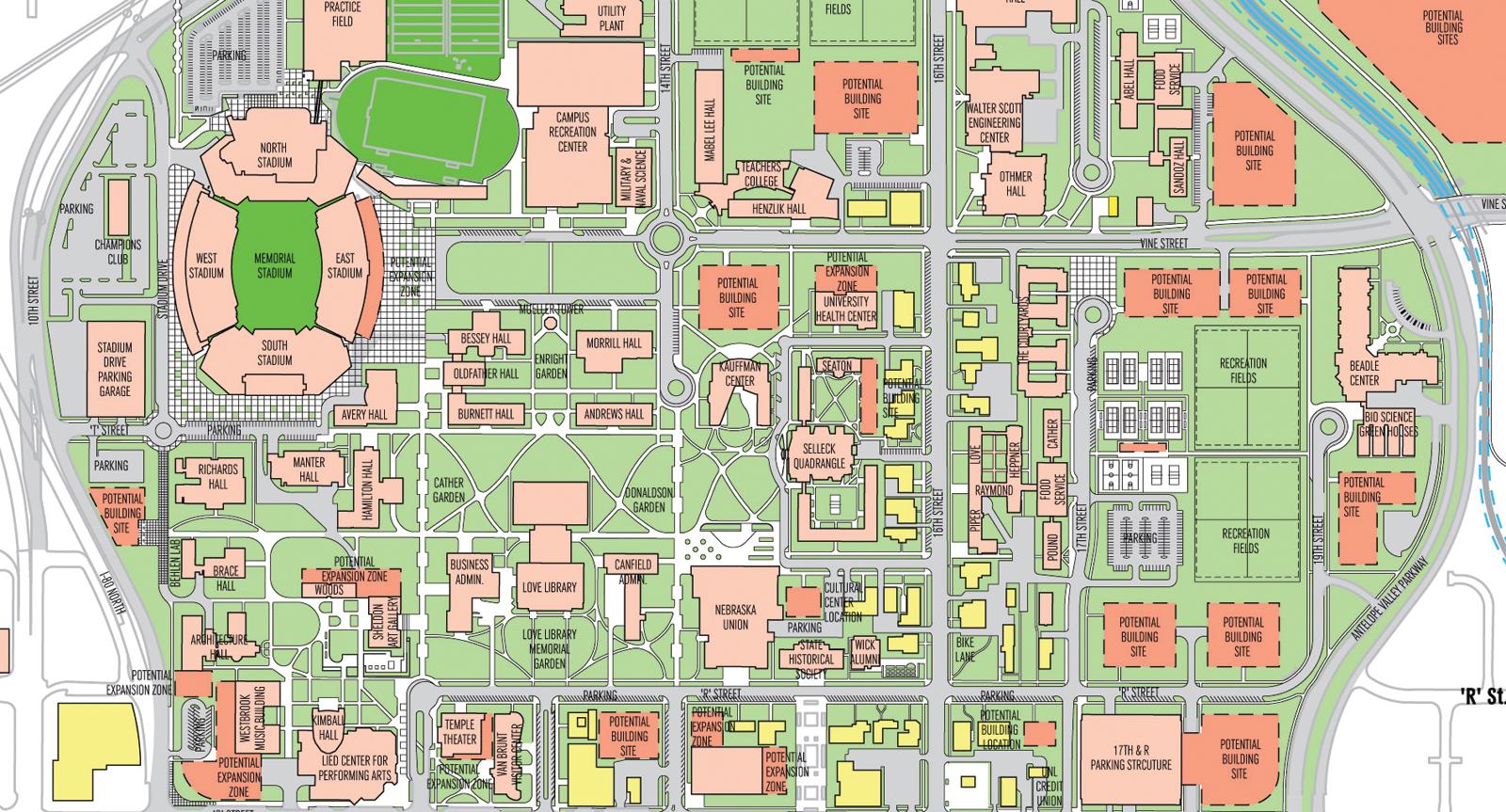 Unl Campus Map   CYNDIIMENNA
