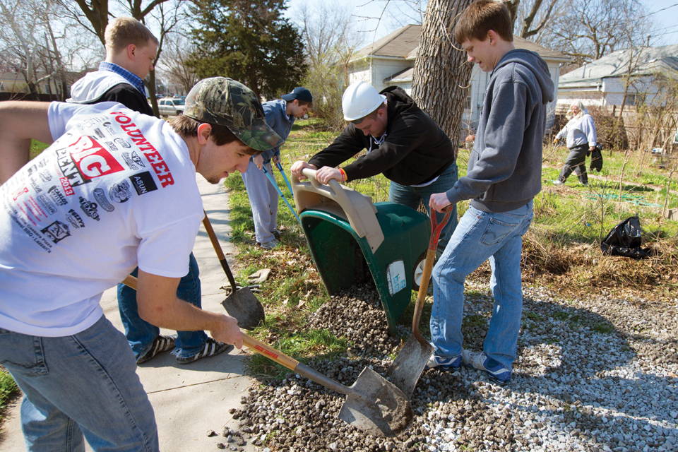 Group service projects