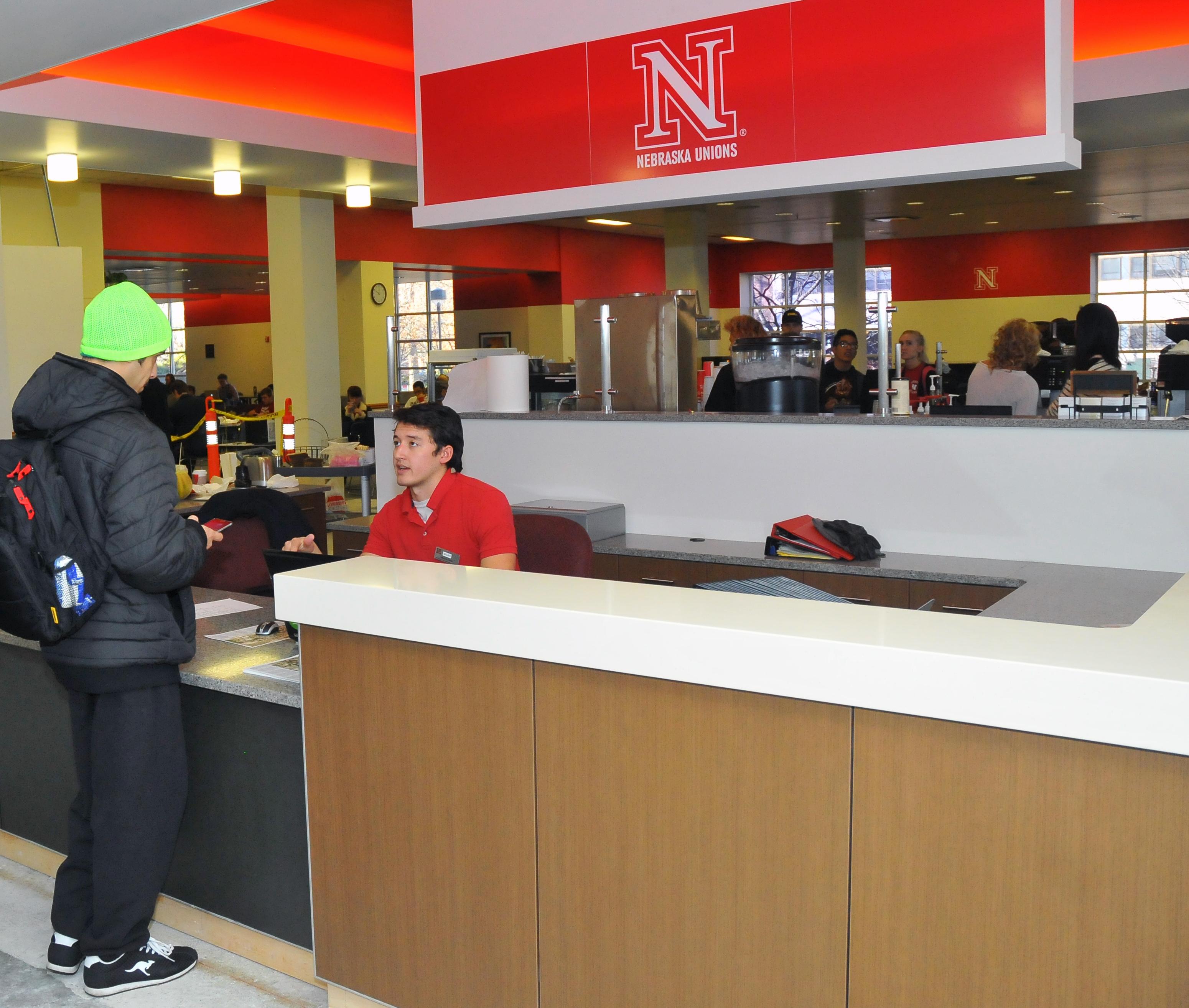 Nebraska Union Food Court