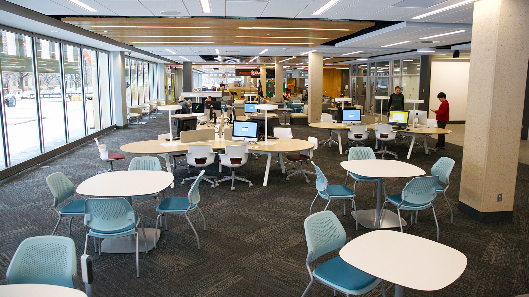 Learning Commons Offers New Study Collaboration Space