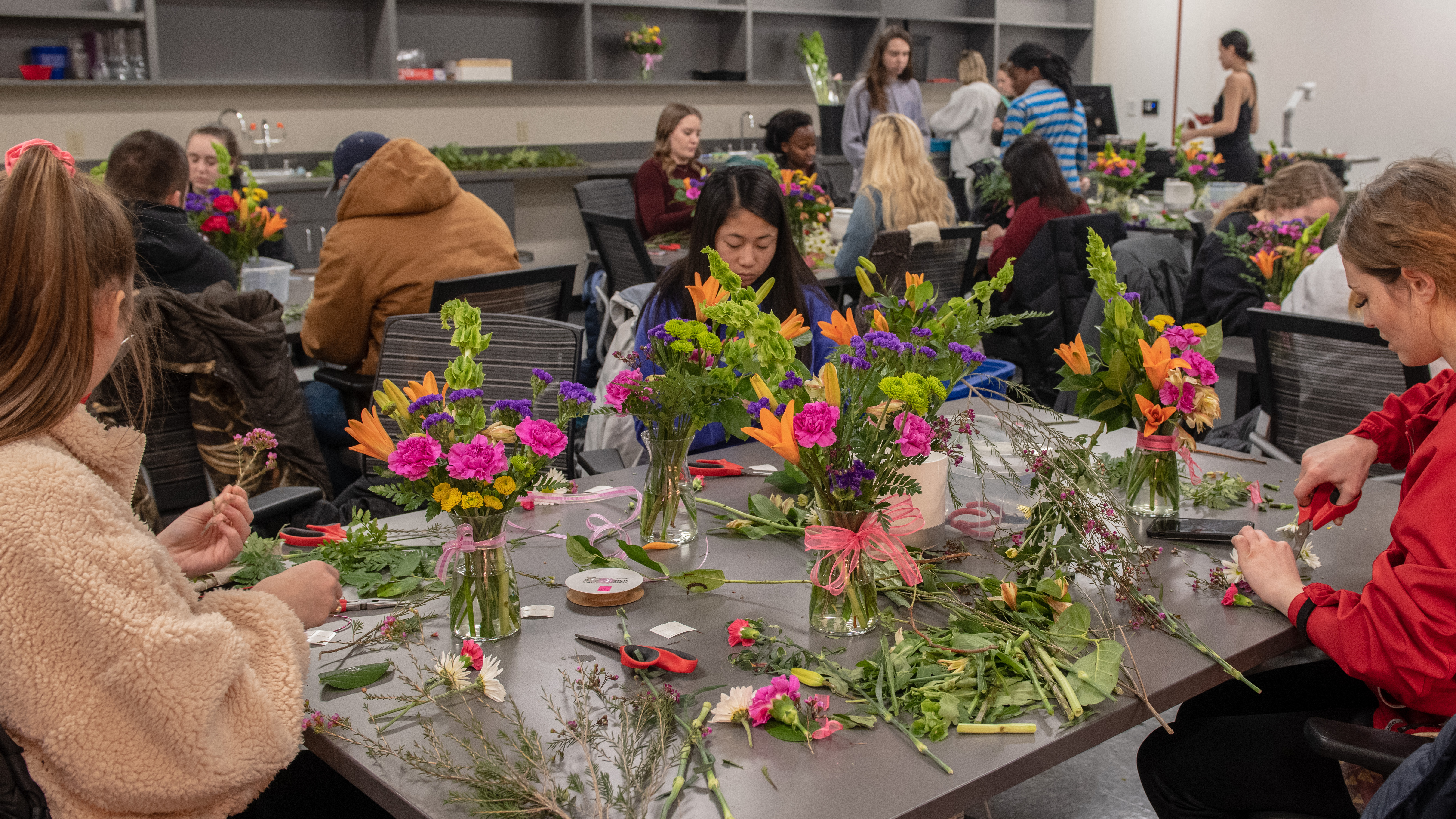 Floral Design Class A Bouquet Of Art And Science Nebraska Today