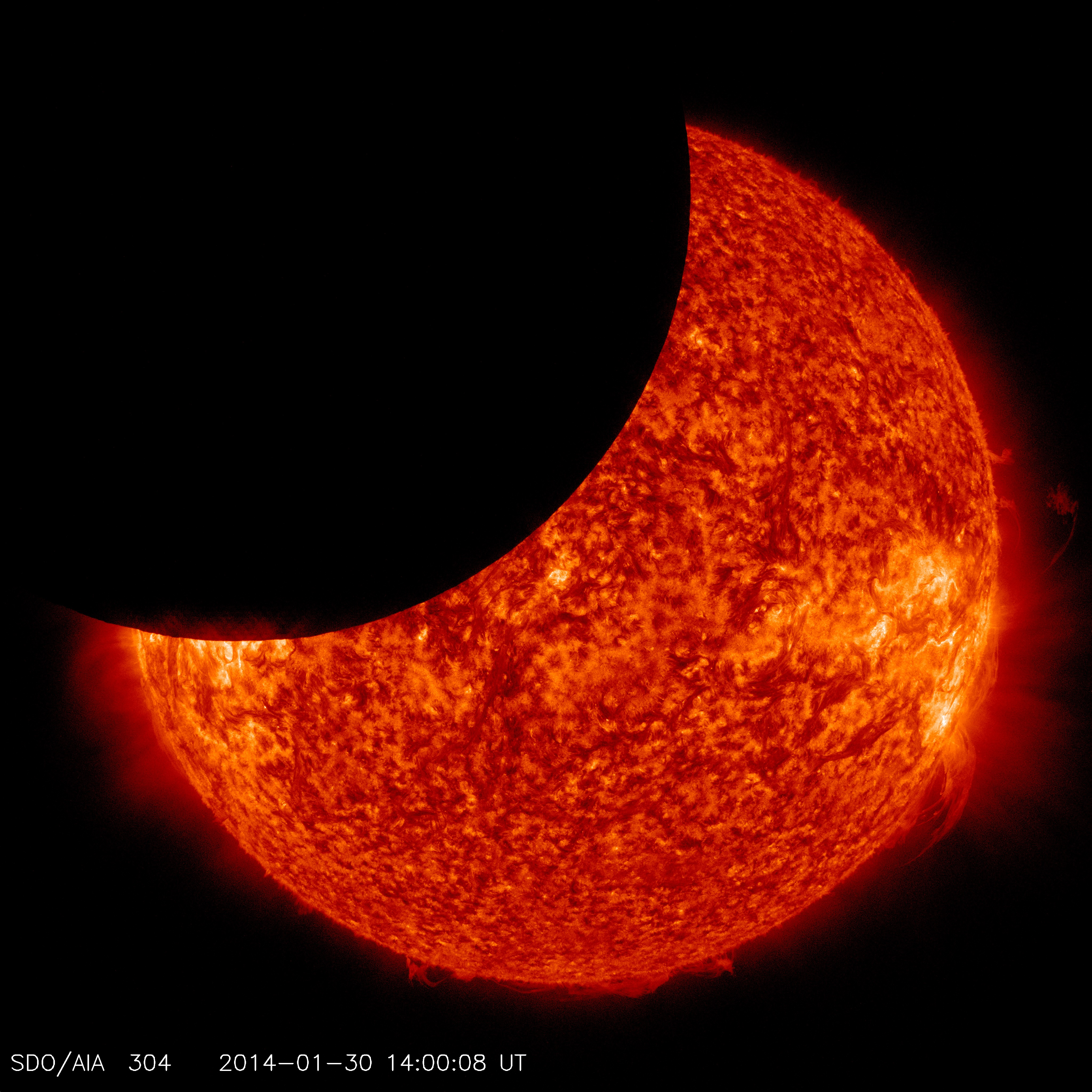 Sun From Space: Solar Eclipse Viewing At Student Observatory