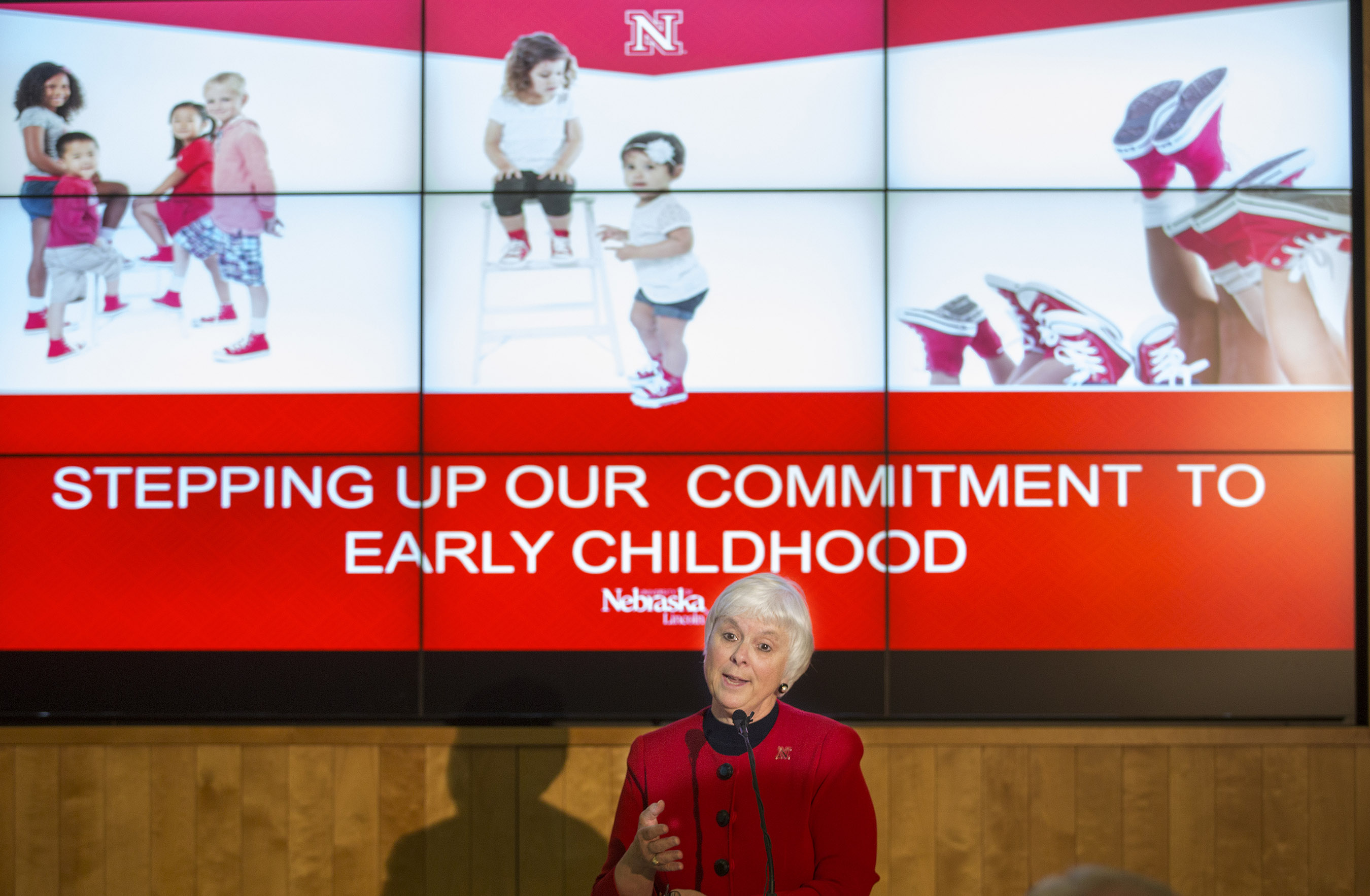 Unl Announces Stepping Up Of Commitment To Early Childhood