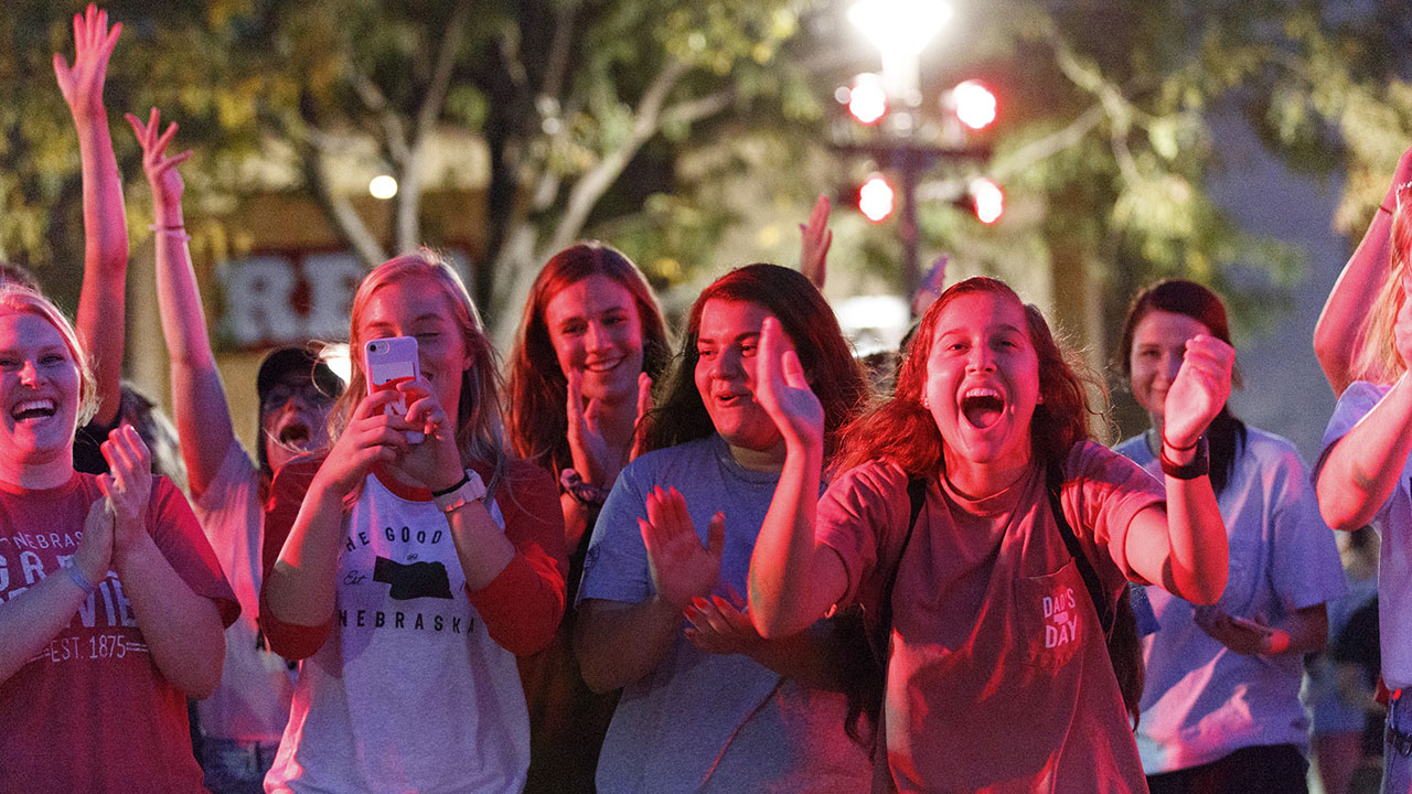 huskers homecoming celebrates bringing the tradition home