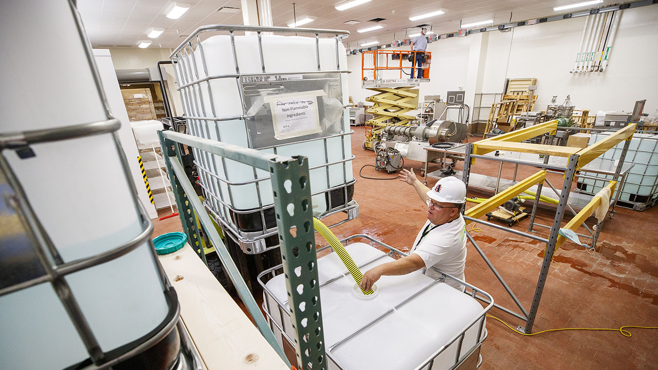 Innovation Campus' PPE projects benefit hundreds of communities