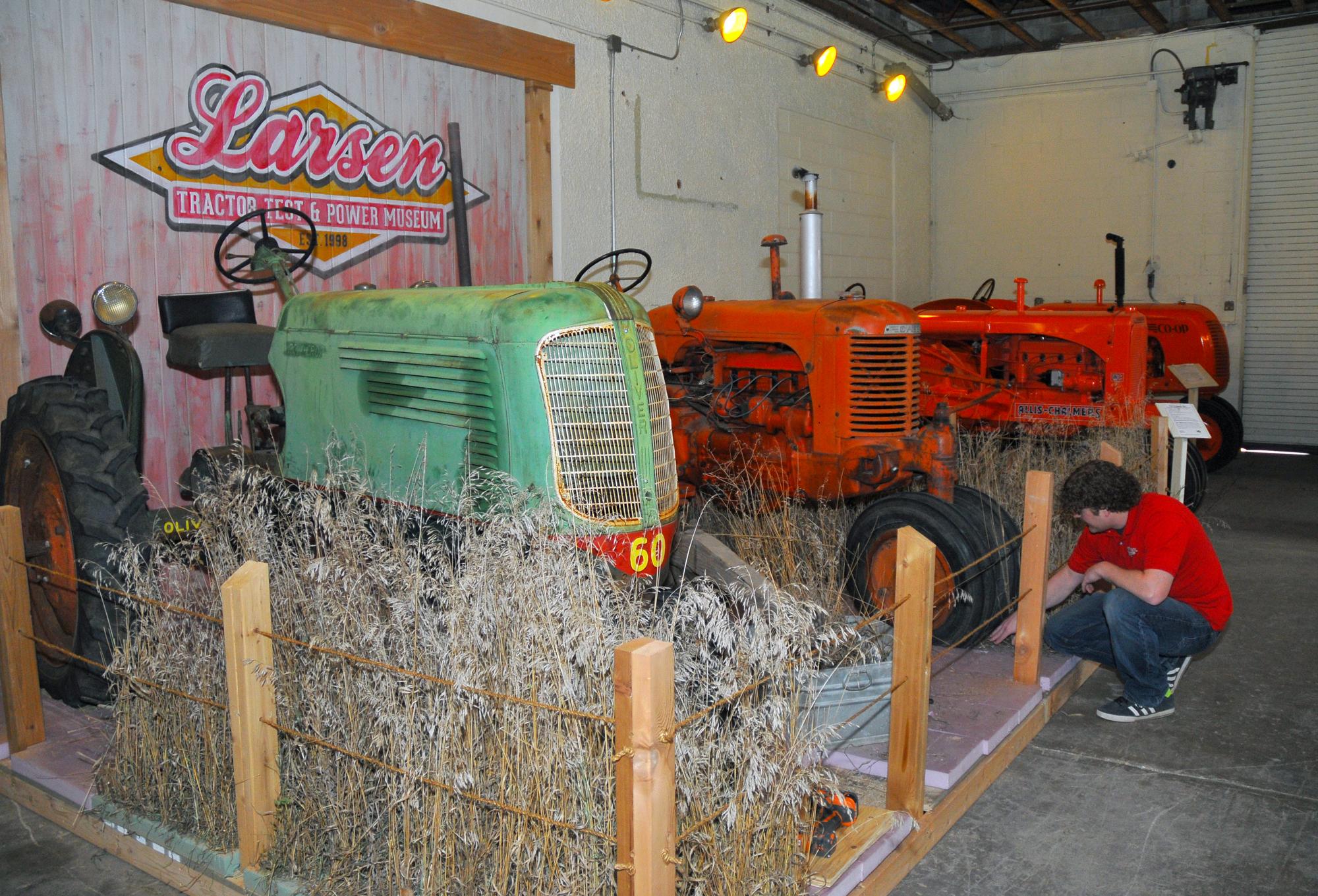 Art Car Museum >> Tractor museum revamps exhibits   Nebraska Today ...