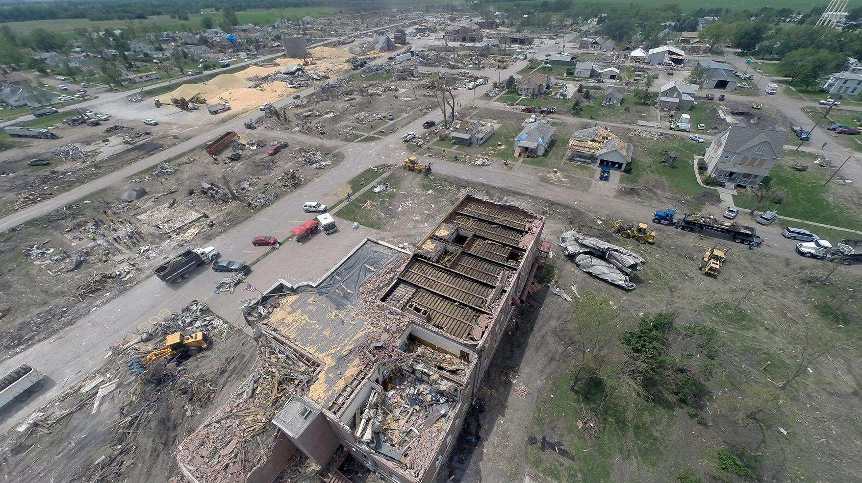 Engineers Study How Pilger Tornado Destroyed Buildings