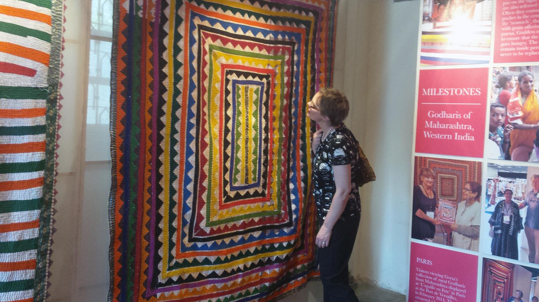 Quilt Museum Expands International Ties To India Nebraska Today
