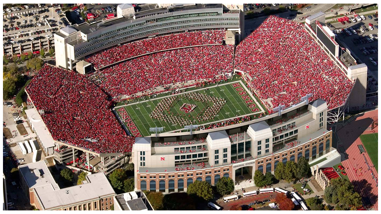 Memorial Stadium Newsroom University Of Nebraska Lincoln