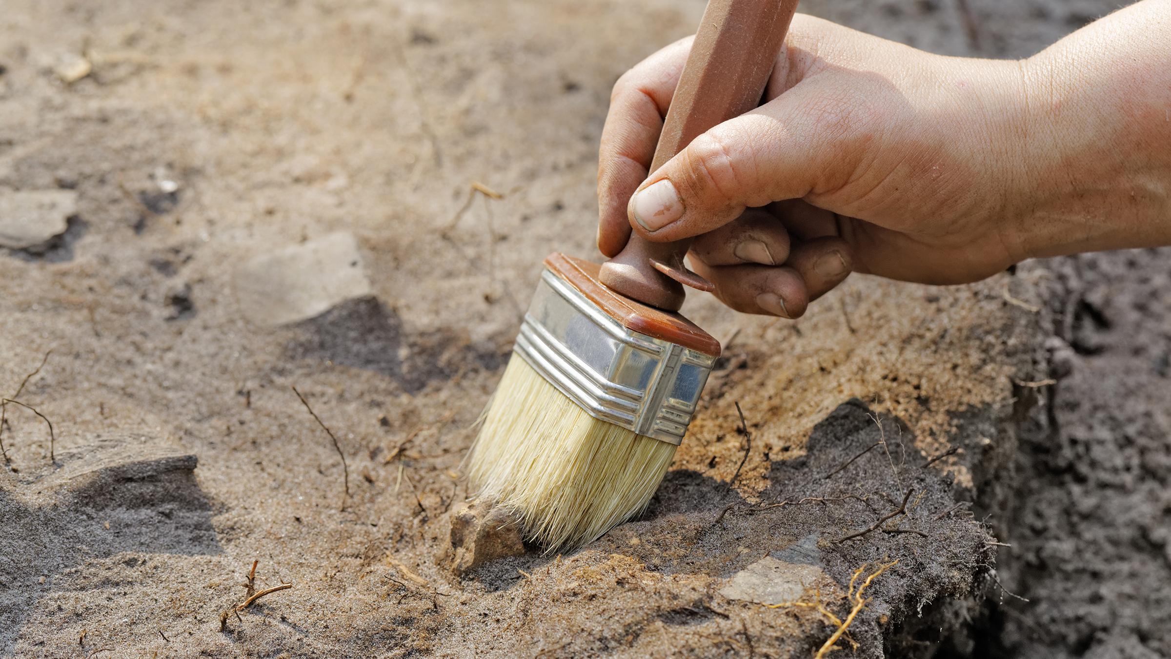 Житель села в грузии сделал археологическое открытие.