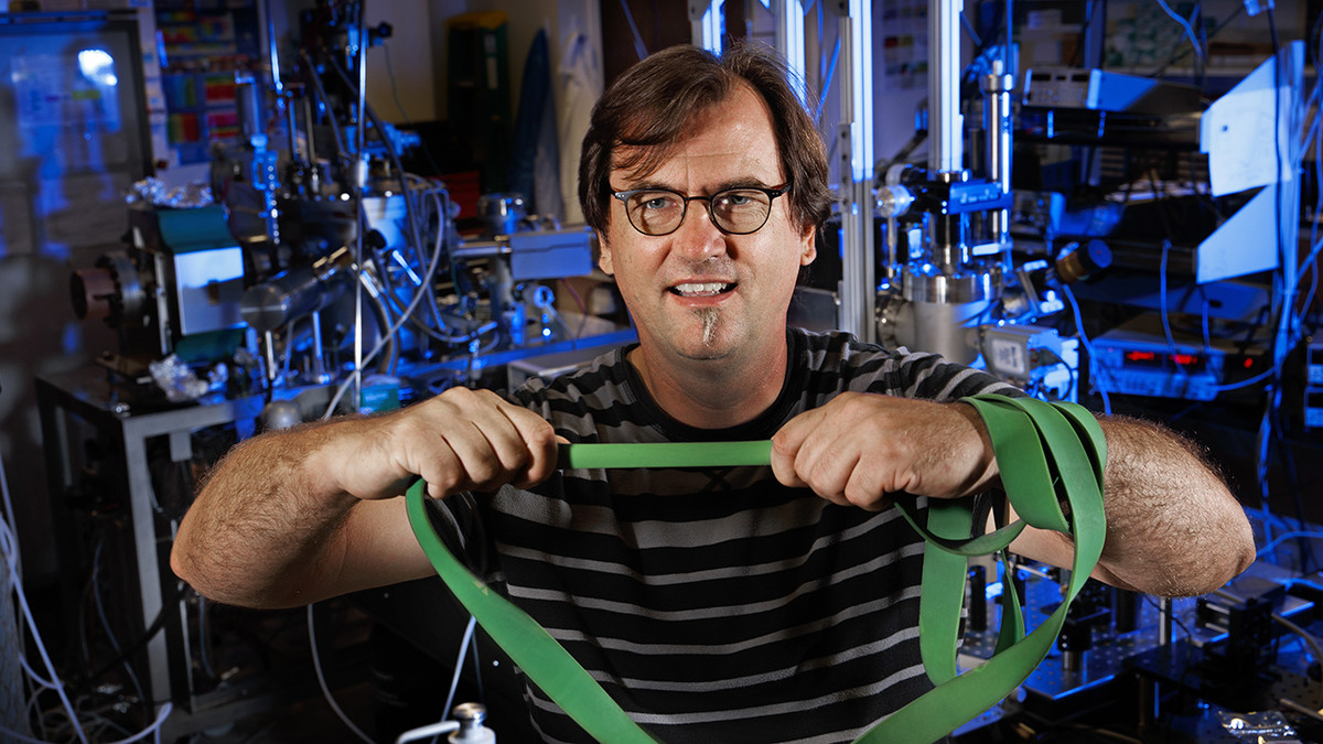 Husker physicist points way to controlling elasticity with magnetism