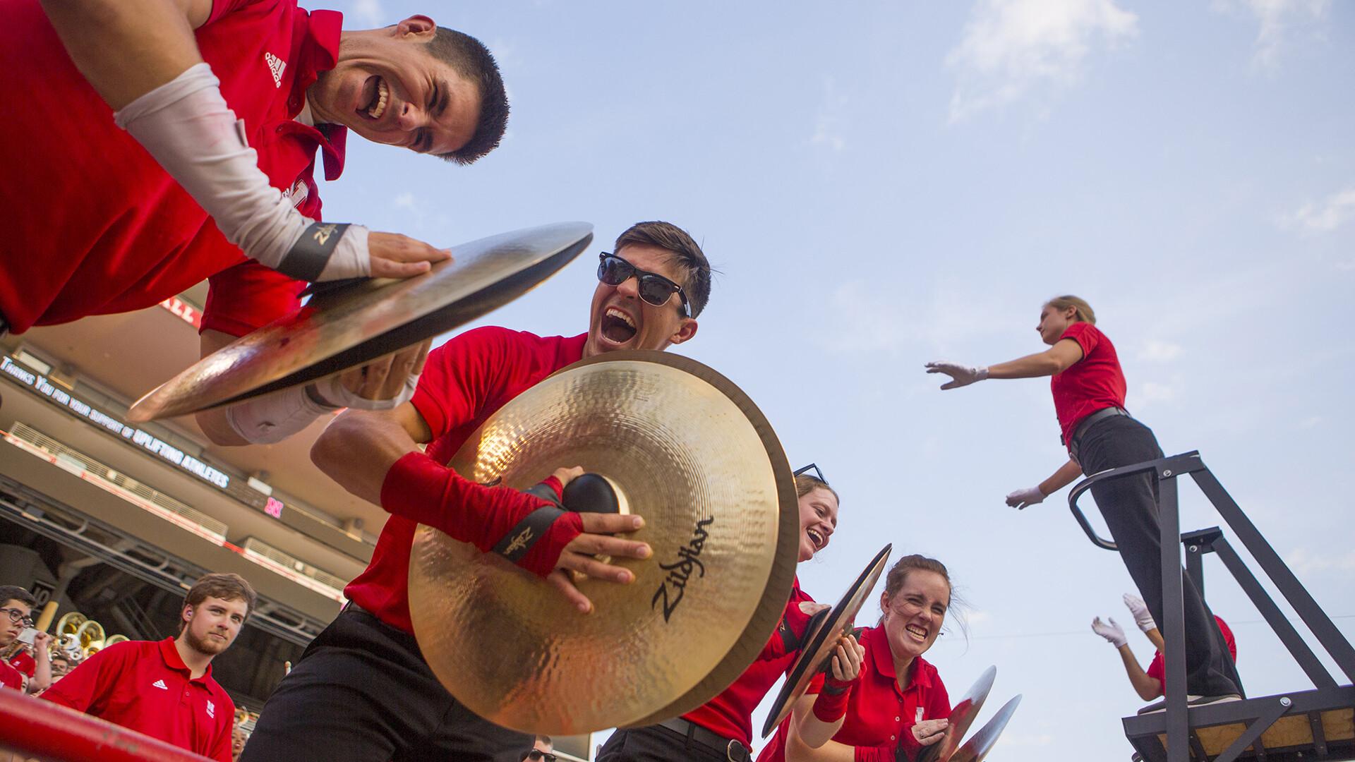 Cornhusker Marching Band makes debut Sept. 2