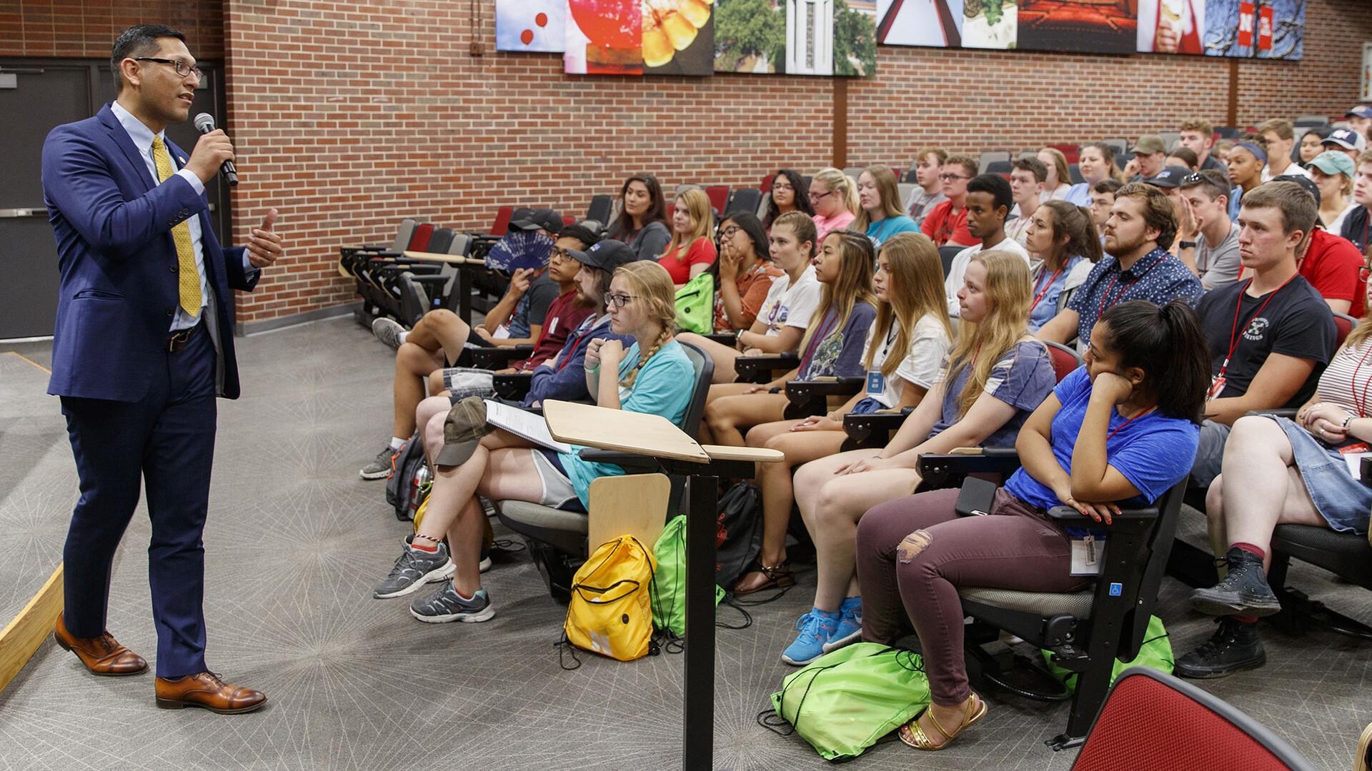 First Huskers program resonates with state senator