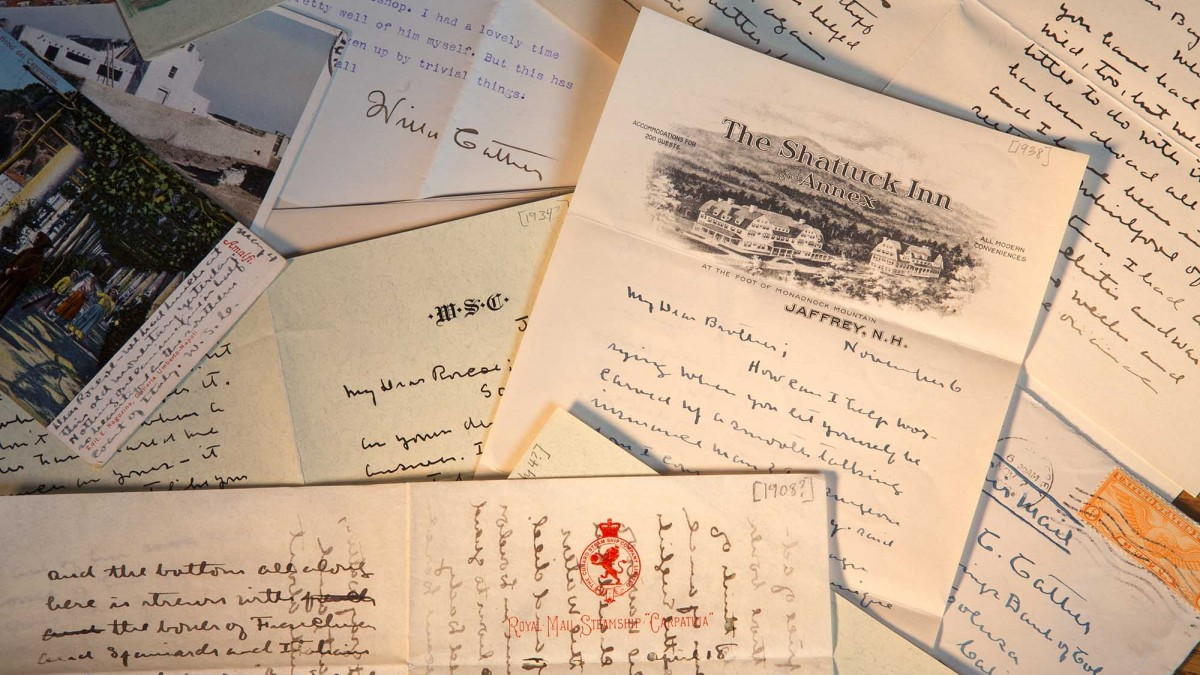 Cather's handwritten musings become part of the internet age