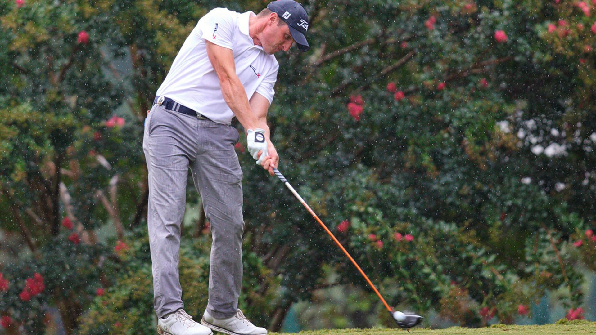 Husker alumnus plays in PGA Championship
