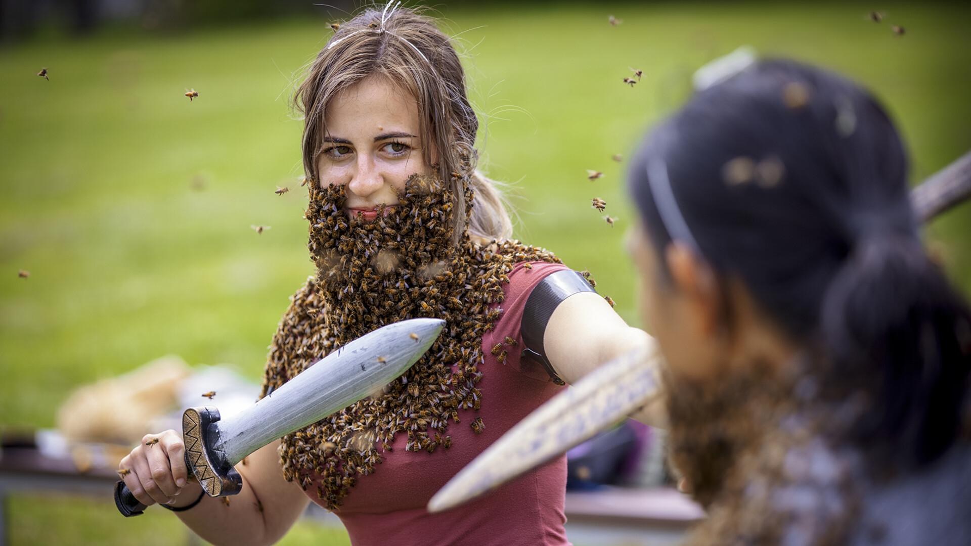 Bee-ard battle | Photo of the week