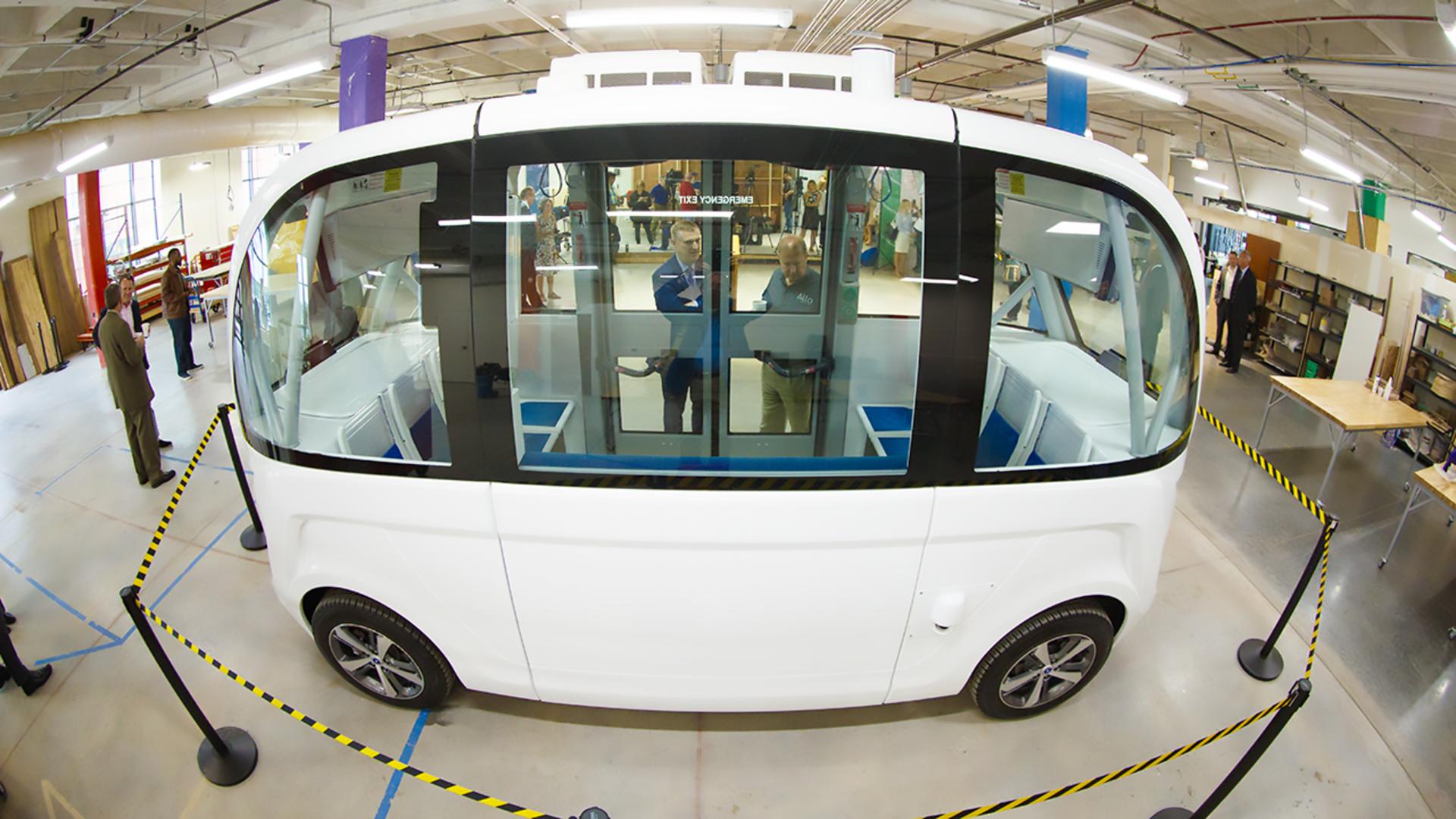 University to house Nebraska's first self-driving shuttle