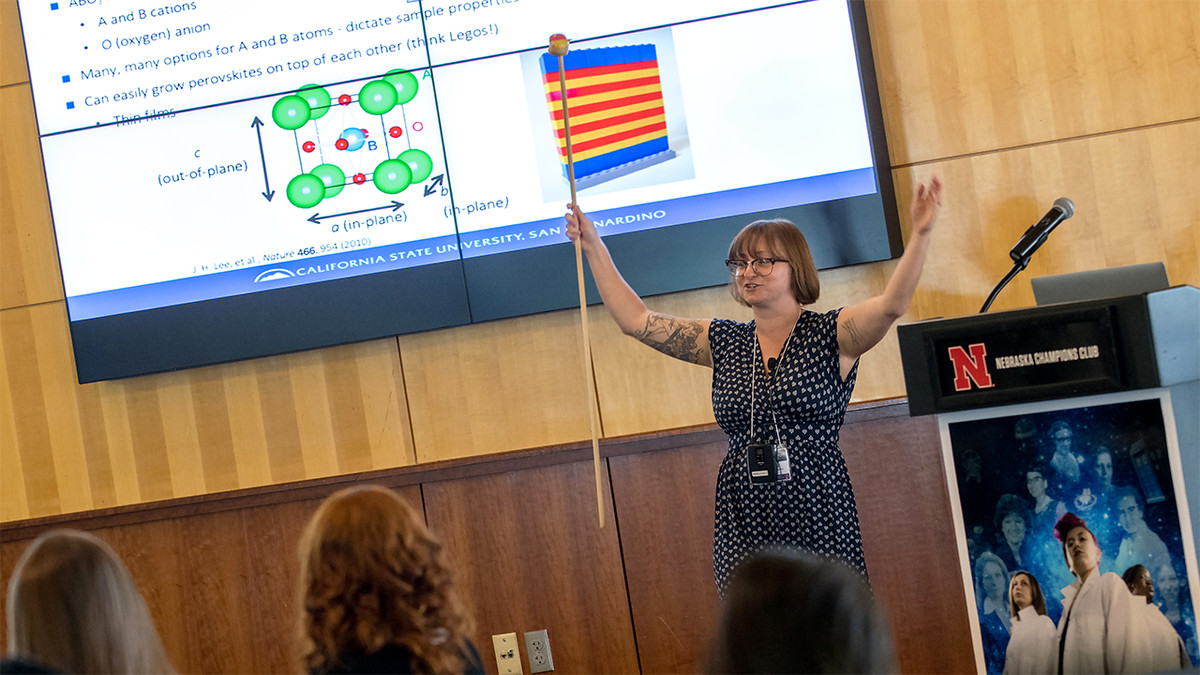 Doctor You: Undergrad women descend on Lincoln for science conference