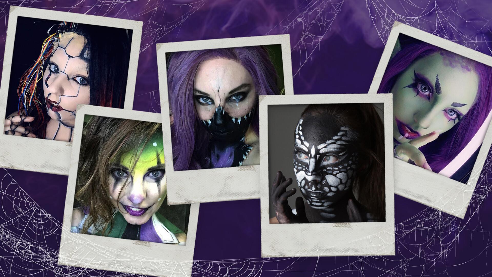 Husker creates Halloween looks as special effects makeup artist