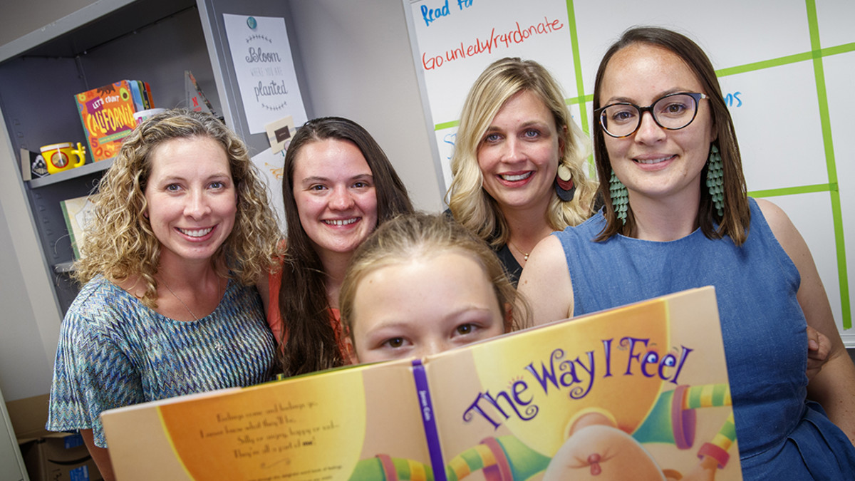 Project helps young flood survivors heal through reading