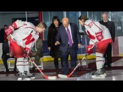 John Breslow Ice Hockey Center Dedication