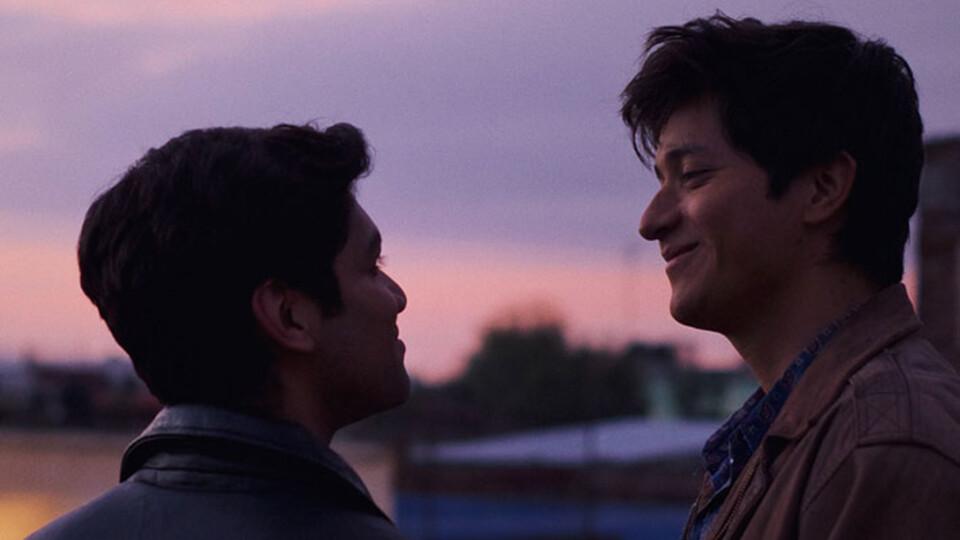 """Armando Espitia & Christian Vázquez in """"I Carry You With Me"""""""