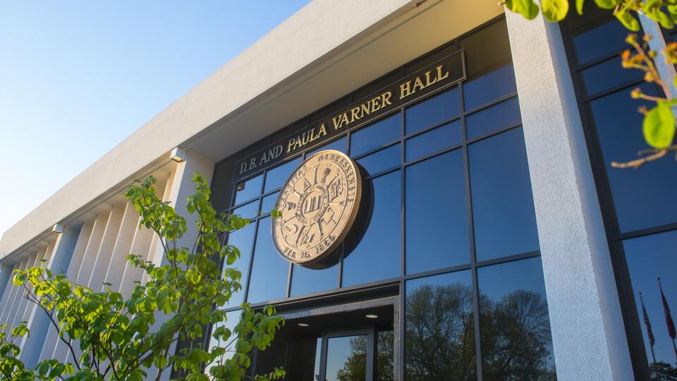 Photo of Varner Hall, home to University of Nebraska Central Administration.