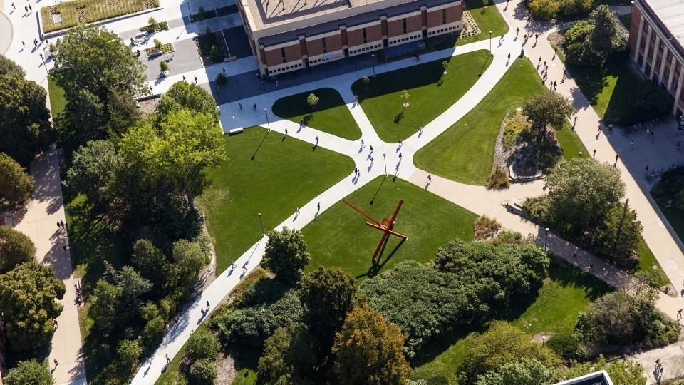Photo courtesy of University Communications