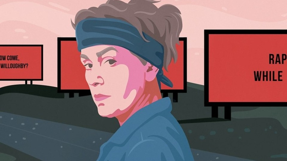 Frances McDormand starring in Three Billboards outside Ebbing, Missouri