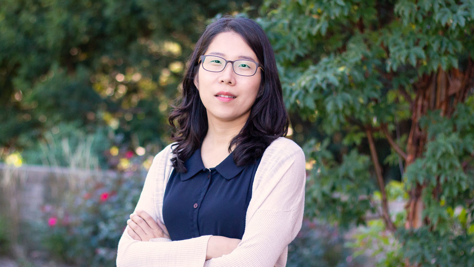 Jessica Namkung, assistant professor of special education and communication disorders, is exploring ways to help students with math learning difficulties prepare for algebra.