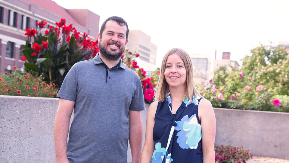 Marc Goodrich and Natalie Koziol are exploring ways to identify and control selection bias in evaluations of differential item functioning.
