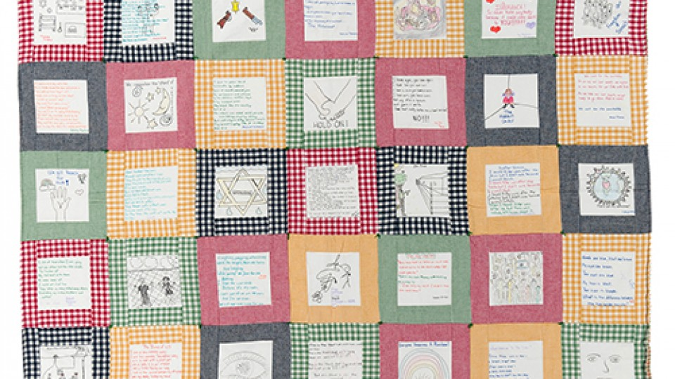 Quilt museum features Holocaust quilt program | Nebraska Today ... : quilt program - Adamdwight.com