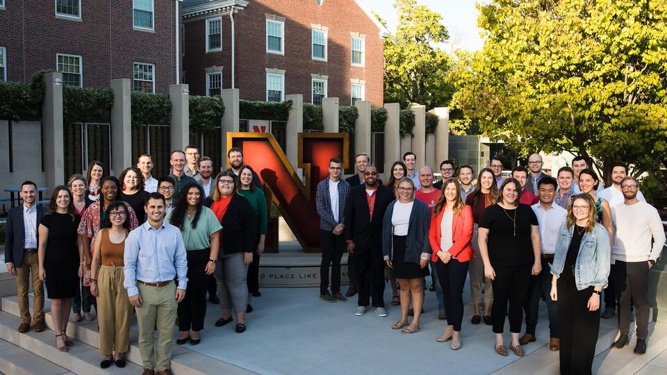 The Nebraska Alumni Association's 2021-22 Young Alumni Academy cohort