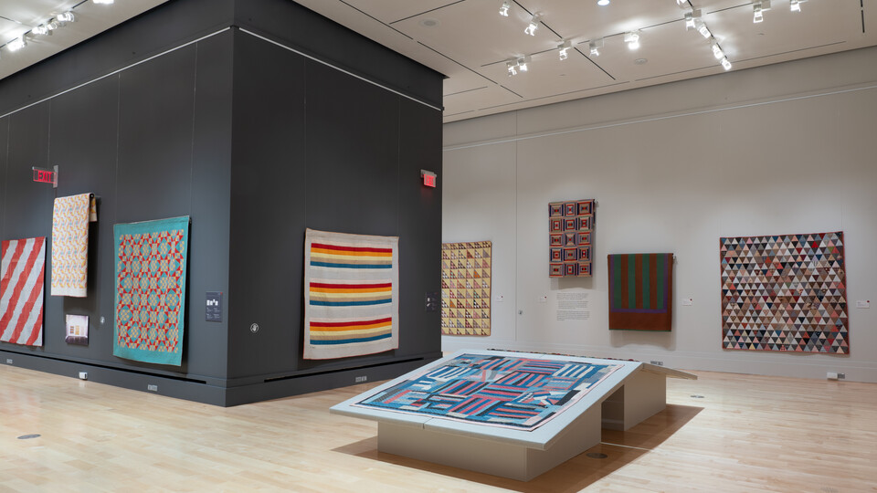 Quilts from the Whitney exhibition