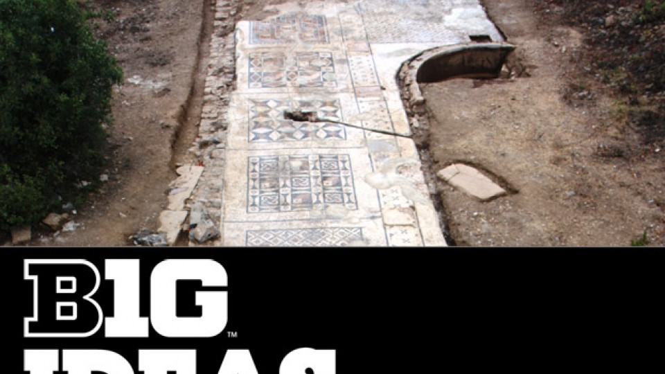 Archaeological Team Uncovers Massive Roman Mosaic In Southern