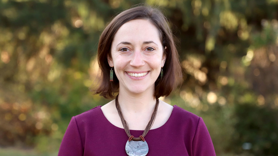 Andrea Basche, University of Nebraska–Lincoln assistant professor of agronomy and horticulture.