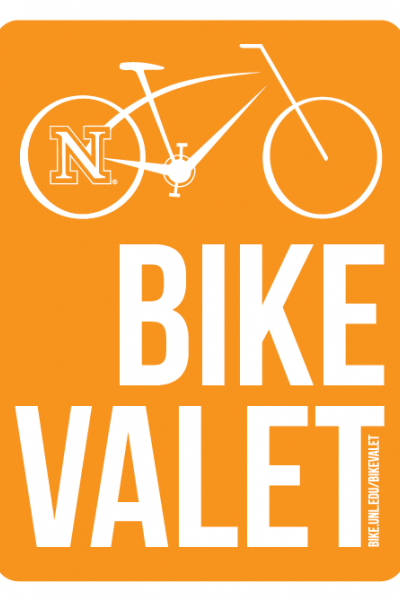 Bike Valet offered for Red-White spring game on April 12.