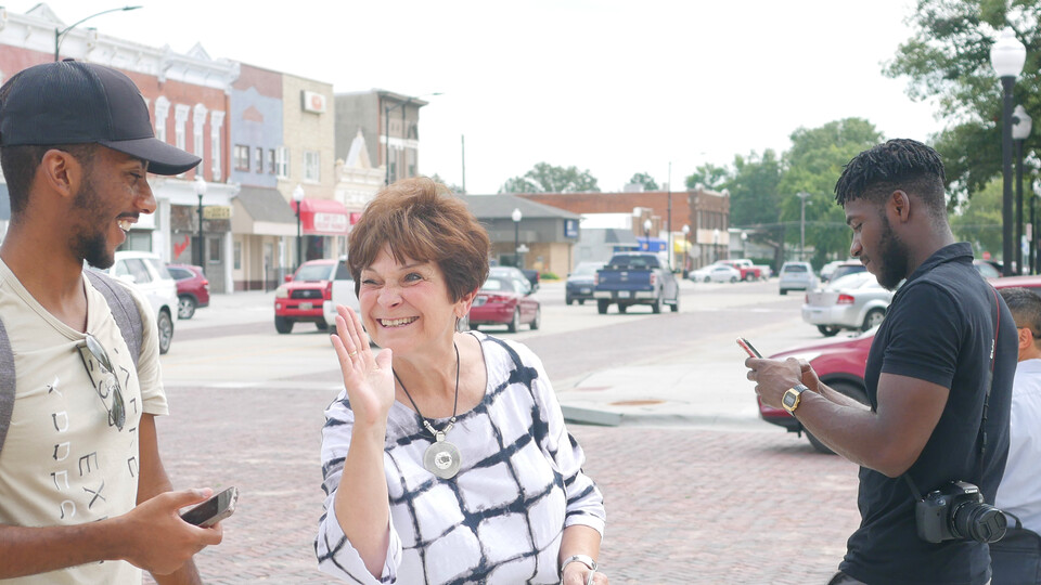 Community and Regional Planning students are helping with a downtown revitalization plan for David City.