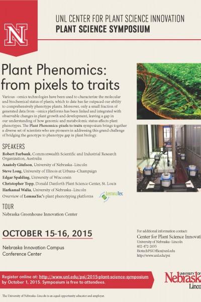 2015 Plant Science Symposium Program