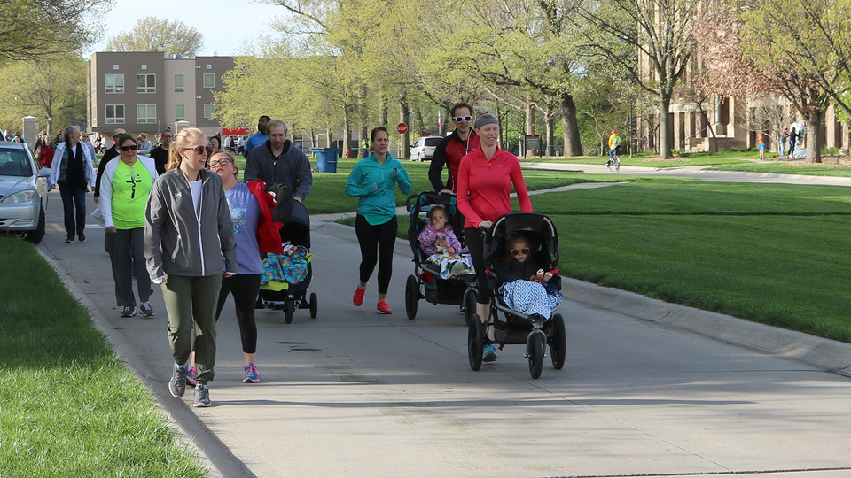 The Huskers for Hearing 5K is April 7 on East Campus.
