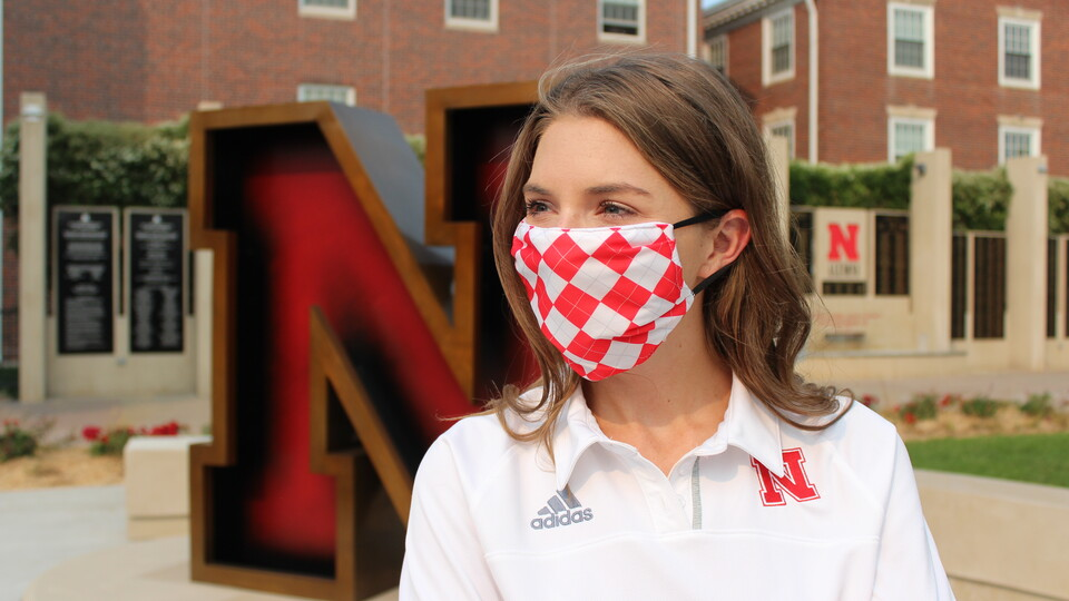 Alumni and friends can continue to make an impact through the Scarlet & Cream Mask Donation program through the new year.