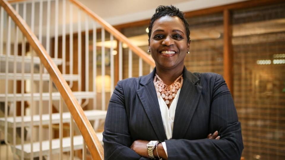 Karen Bell-Dancy, executive director, YWCA of Lincoln, Photo by Olivia Konert, Doane University