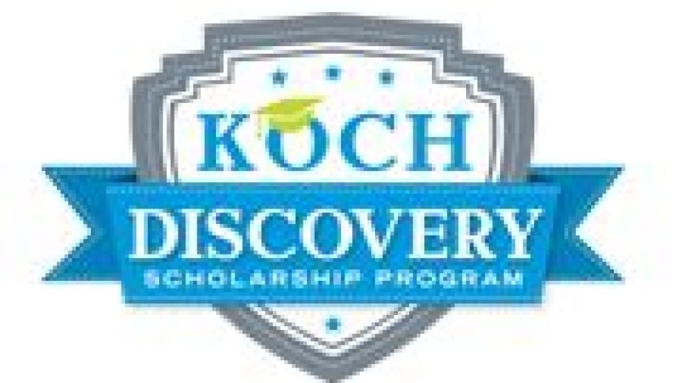 Koch Discovery Scholarship Program | Deadline: February 4, 2013