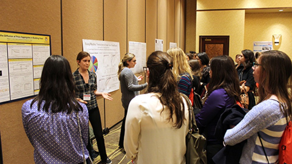 Poster Session - Nebraska Conference for Undergraduate Women in Mathematics 2015