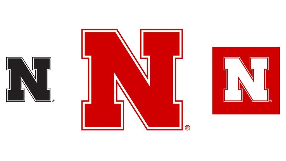 """The new Nebraska """"N"""" which will be used for all units within the University of Nebraska–Lincoln. The new icon replaces those used by UNL academic units, Husker Athletics and Nebraska Alumni Association. The new design will start being used in July."""