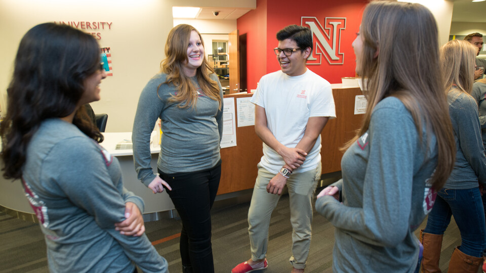 Conference Services offers information sessions to any student interested in applying to be a conference assistant.