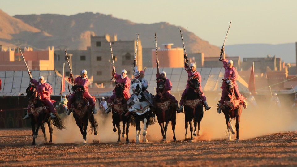 Tbourida, a Moroccan equestrian tradition, will be discussed by Nebraska alumna Gwyneth Talley in a Sept. 8 presentation.