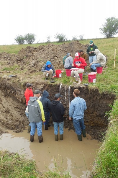 Unl soil judging team advances to national contest for Soil judging
