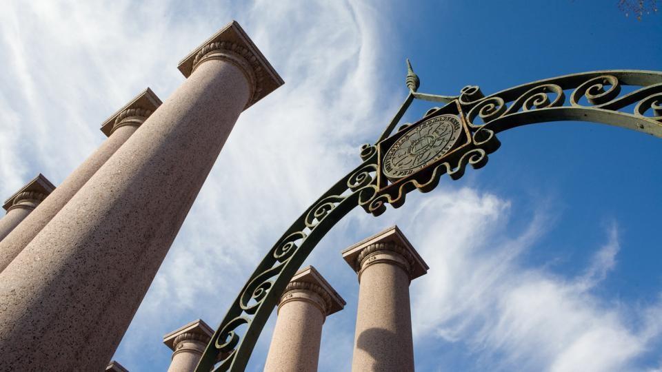 University of Nebraska - Lincoln seal and columns
