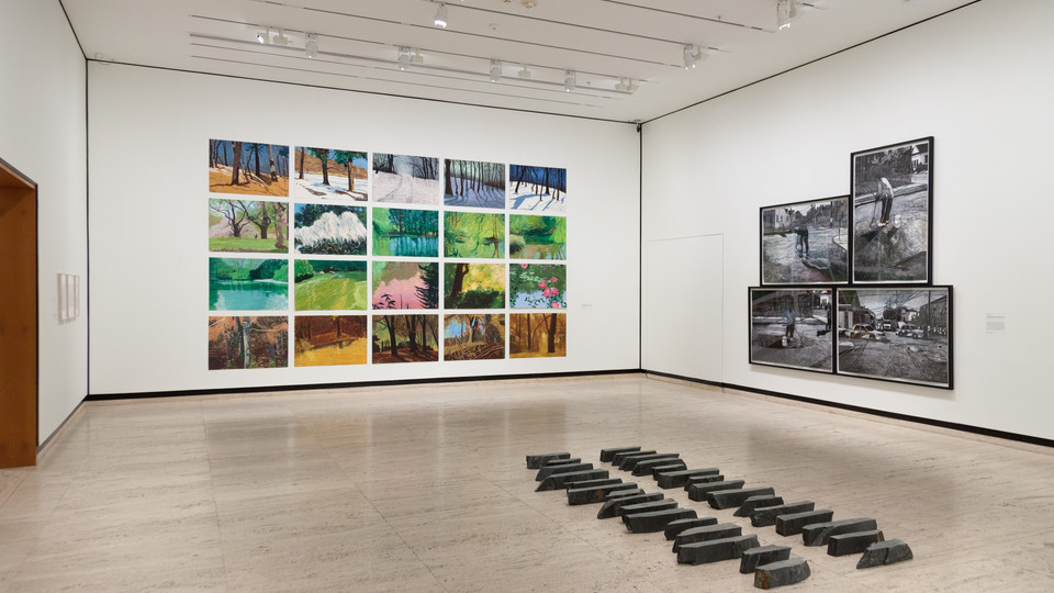 "The exhibition ""Approaching Landscape"" is on view at Sheldon through December 31."